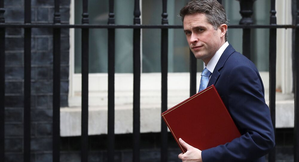 Britain's Secretary of State for Defence Gavin Williamson arrives to attend a meeting of the National Security Council in Downing Street, in London, March 12, 2018