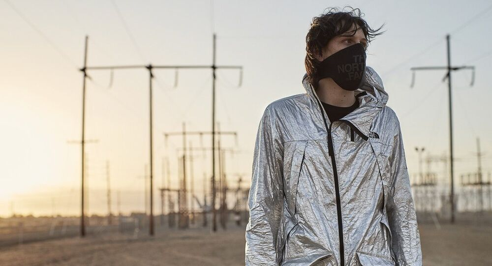 The North Face Presents Its Innovative Black Series Aluminium Tyvek Collection