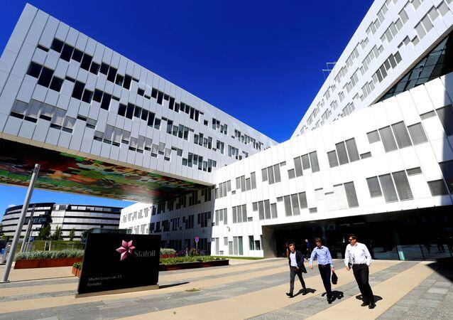 Norwegian oil company Statoil's headquarters in Fornebu, Norway, June 1, 2017