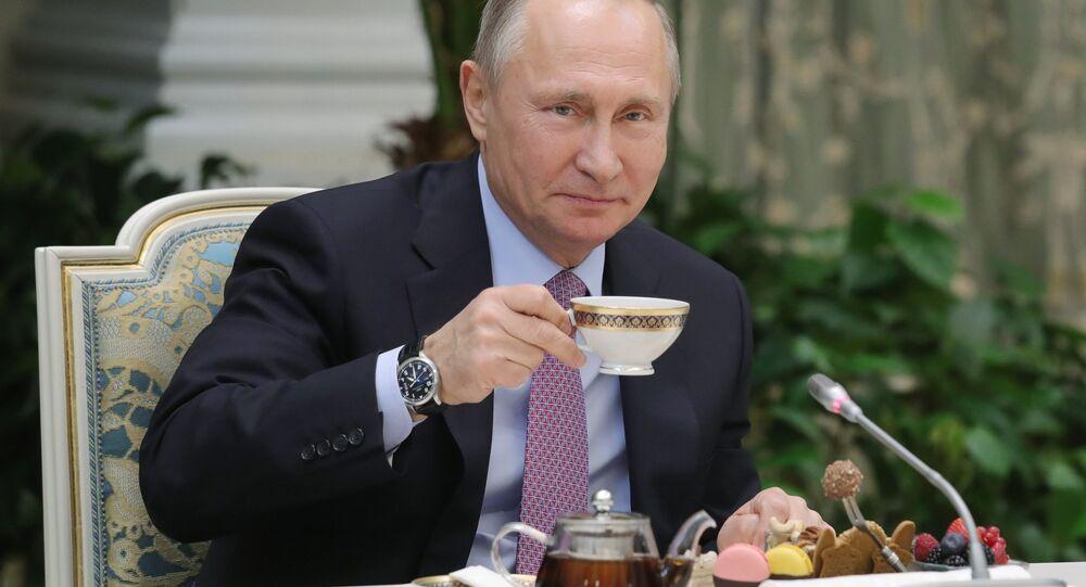 Russian President Vladimir Putin (File)