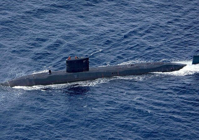 Royal Navy Trafalgar-class submarine HMS Trenchant