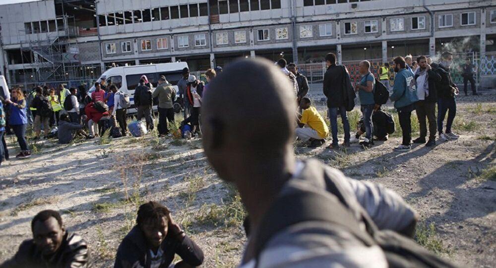 Migrants in France (File)