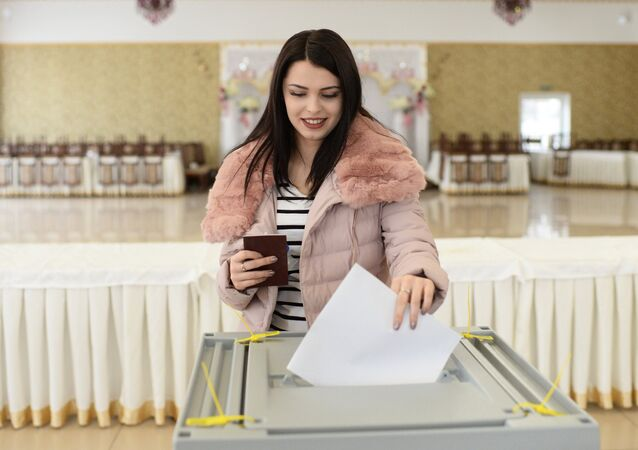 Russian presidential elections the regions of Russia