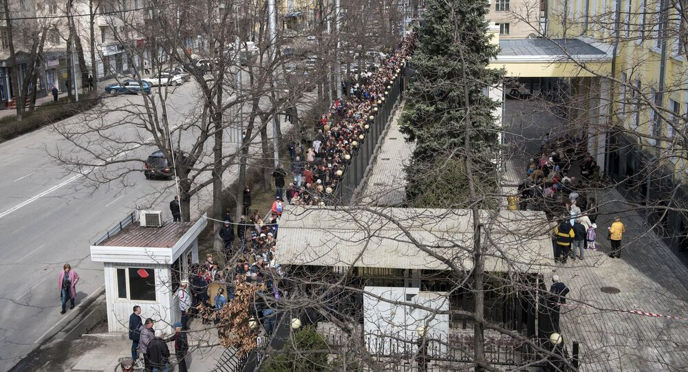 Voting at Russian presidential elections abroad