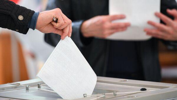 Voting at Russian presidential elections - Sputnik International