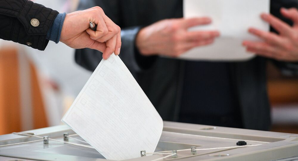 Voting at Russian presidential elections
