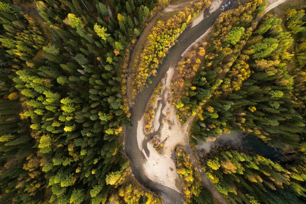 Geometry of Natural Landscapes