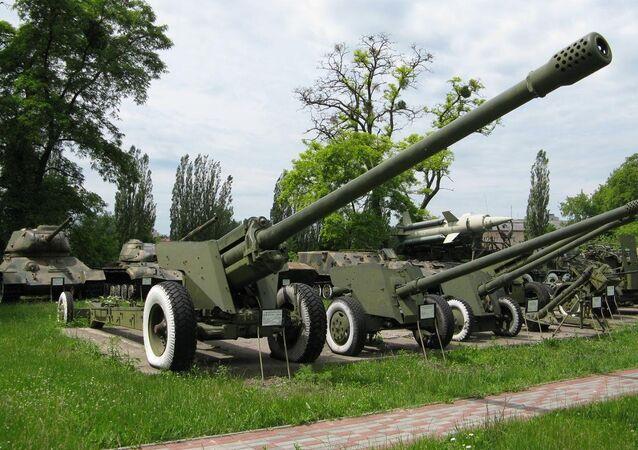 M-46 130mm field gun. (File)