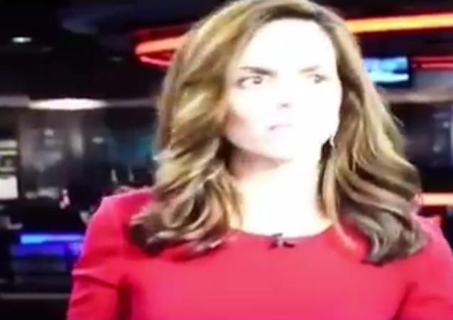 Texas' KRIS-TV news anchor Stephania Jimenez apologizes after vulgar whispers interrupt newscast