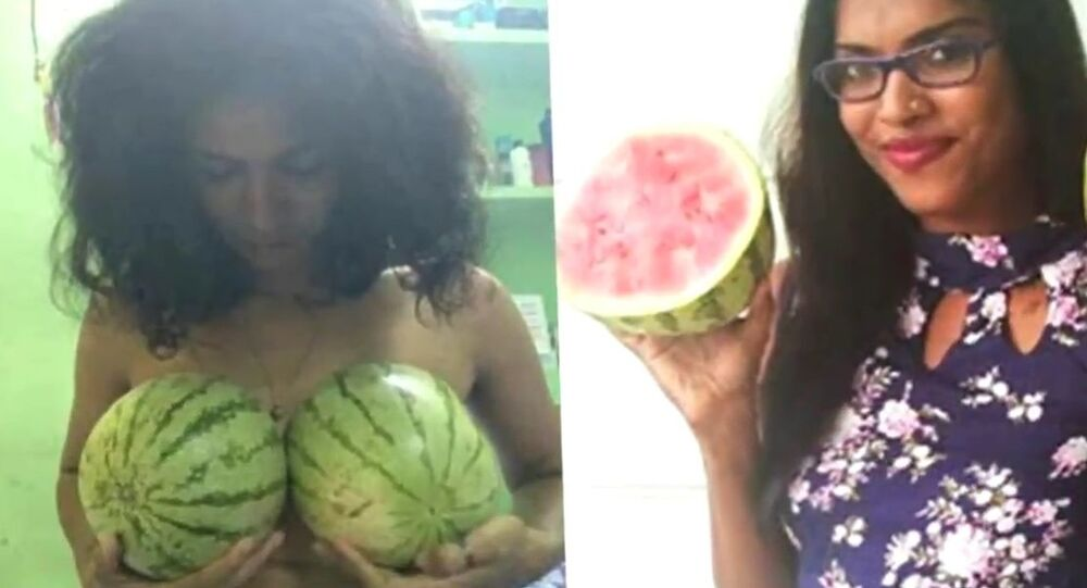 Water Melon Protest: Kerala Women Bare Breasts Protest Against Professor's Sexist Remark