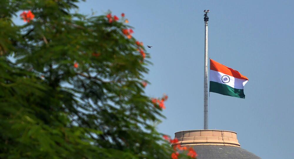 Indian national flag. (File)