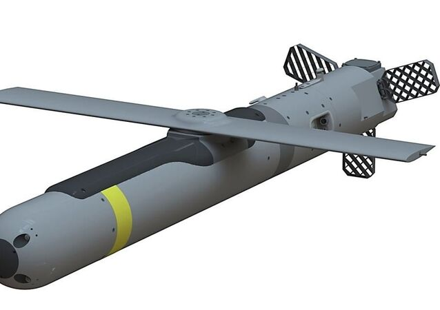 Artist's rendering of Small Glide Munition