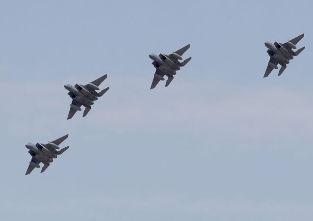 A group of F-15 Eagles. (File)
