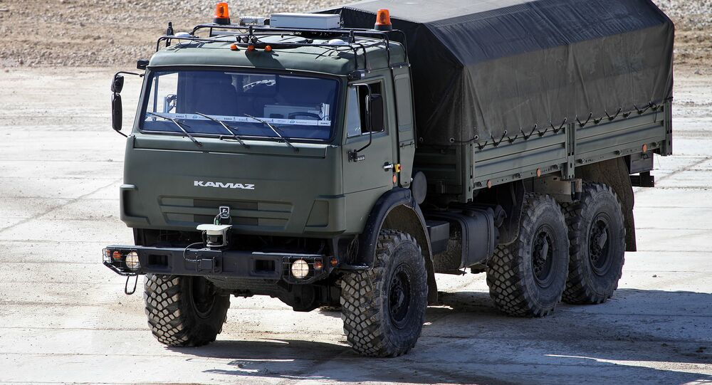 KAMAZ-5350 Avtorobot unmanned vehicle