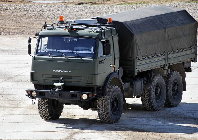 KAMAZ-5350 Avtorobot unmanned vehicle