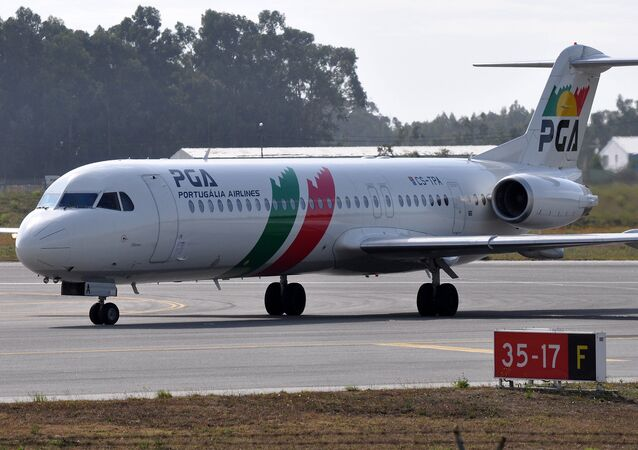 Portugalia Airlines aircraft