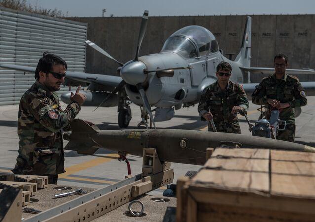 Afghan Air Force A-29