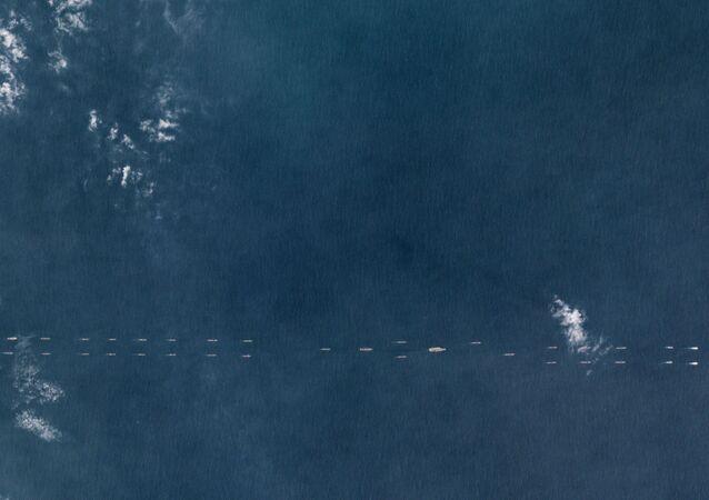 Ships near Hainan