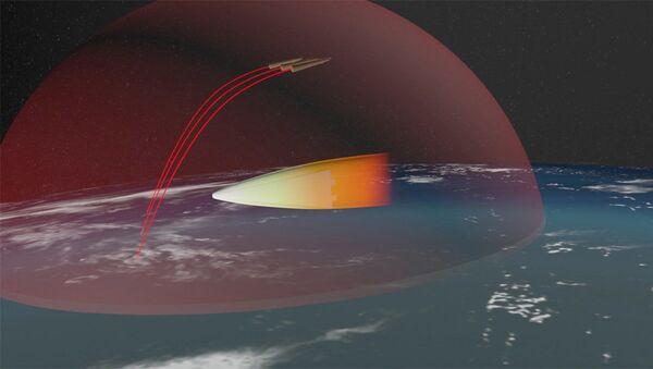 Изображение российского ракетного комплекса стратегического назначения с гиперзвуковым планирующим крылатым блоком - Sputnik International
