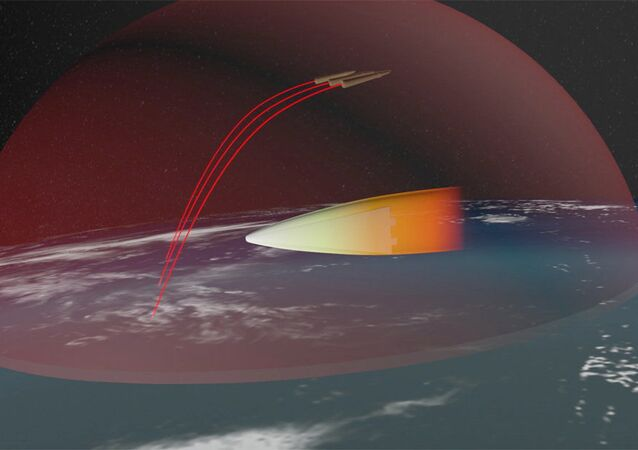 Image of the Avangard hypersonic system