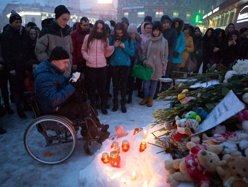 Russia Mourns Kemerovo Mall Fire Victims