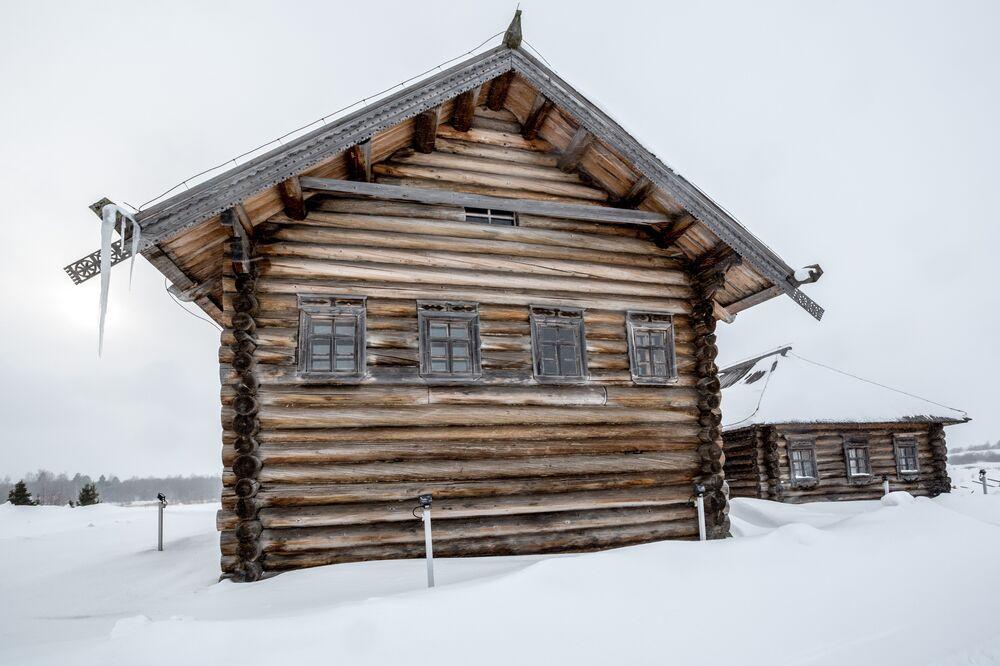 Belyayev's House From Village of Kubovskaya