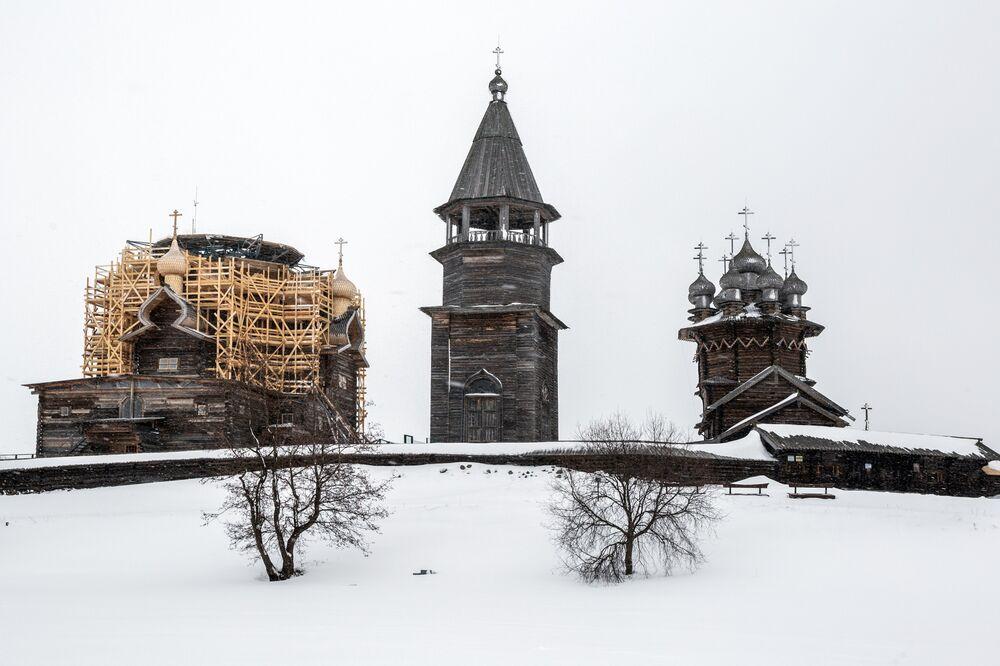 Three Main Churches of Kizhi
