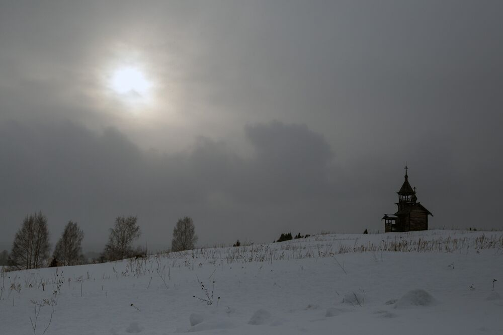 Sun over Edessa Chapel