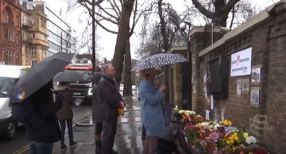 London Pays Tribute to Kemerovo Mall Blaze Victims
