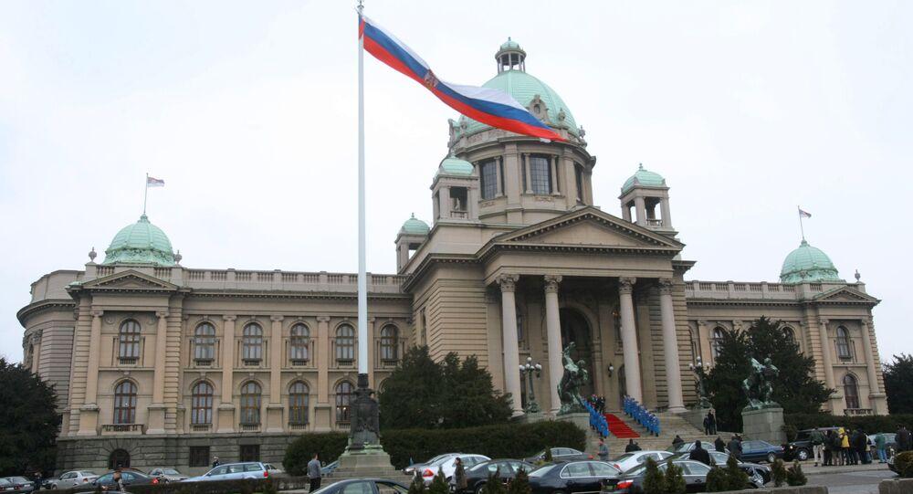 Skupstina (Parliament House) in Belgrade. (File)