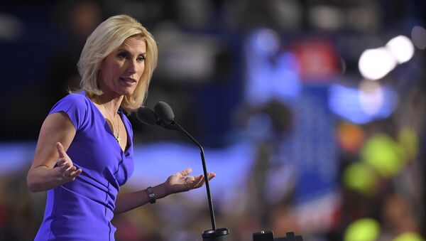 Conservative political commentator Laura Ingraham speaks during the third day of the Republican National Convention in Cleveland, Wednesday, July 20, 2016. - Sputnik International