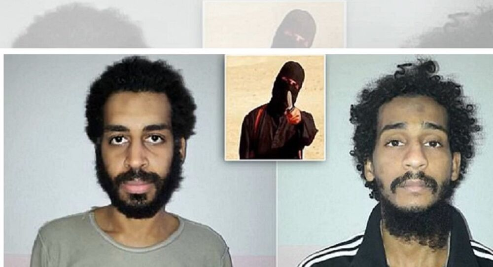 Islamic State Beatles Alexanda Kotey and El Shafee Elsheikh