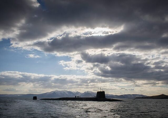 Vanguard-class submarine HMS Victorious returning to her home port at HMNB Clyde, Faslane, Scotland. (File)