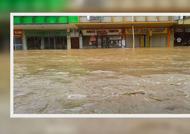 Tropical Cyclone Josie hits Fiji