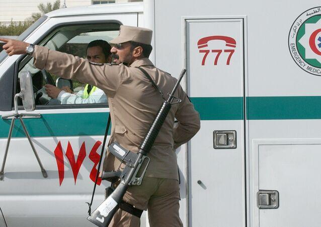 Kuwait ambulance. (File)