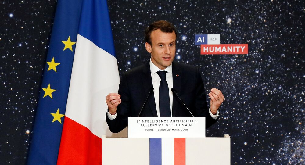 Pandora S Box Macron Warns Facebook Google Becoming Too Big To Be Governed Sputnik International