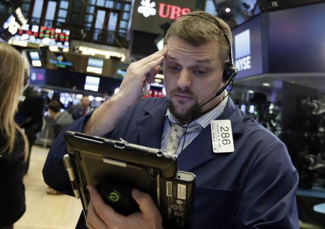 Financial Markets Fall Wall Street