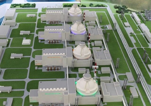 Turkey's first Akkuyu nuclear power plant