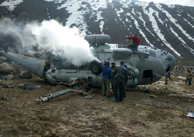 Indian Air Force's Mi-17 Helicopter Crashes Near the Himalayas