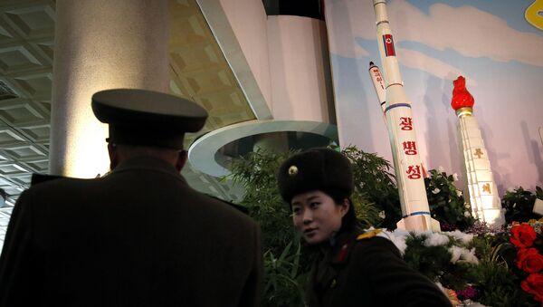 North Korea Photos Flowers and Rockets - Sputnik International