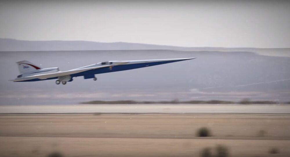 NASA and Lockheed Martin's Low-Boom X-Plane