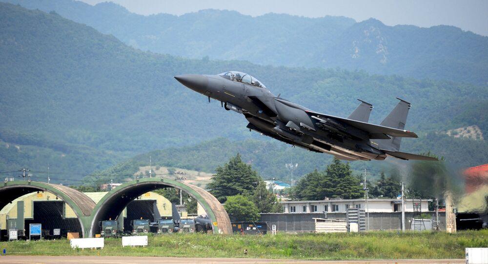 F-15K fighter jet