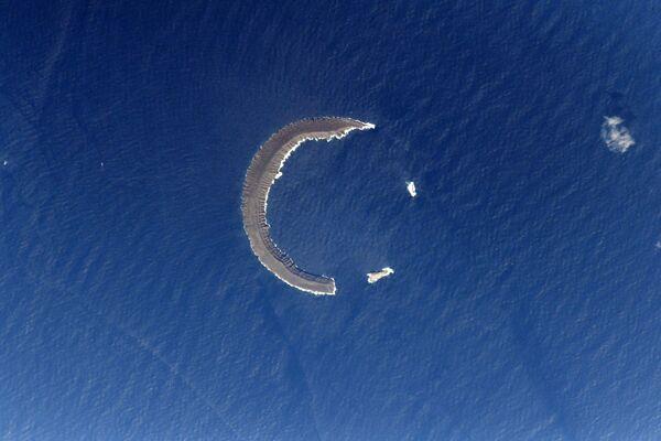 Half Moon of Tortuga Island - Sputnik International