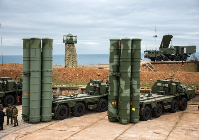 The S-400 Triumf missile system. File photo