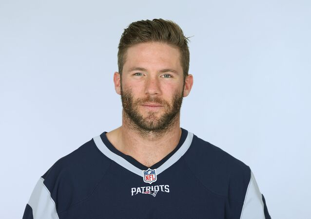 Julian Edelman of the New England Patriots NFL football team. (File)