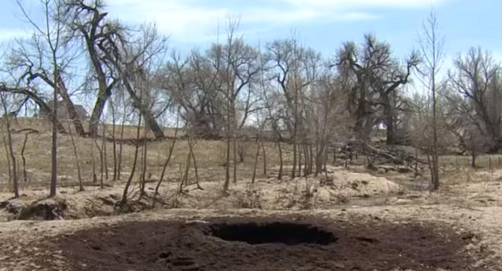 Crater found on Colorado ranch
