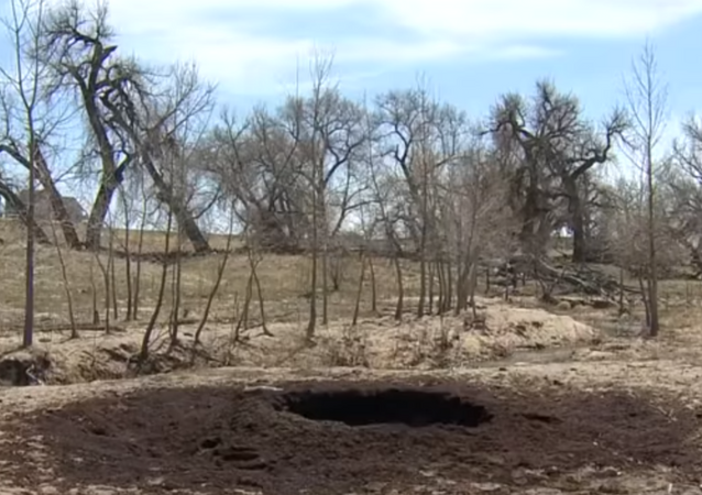 Crater found on Colorado ranch