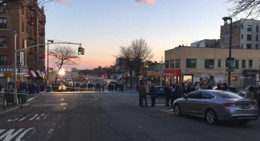 City Block in New York Where NYPD Gunned Down Saheed Vassell