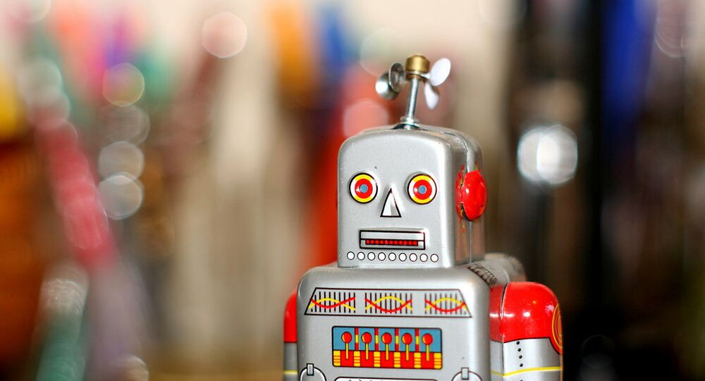 Robot (not the one at DN, photo used for illustration purpose)
