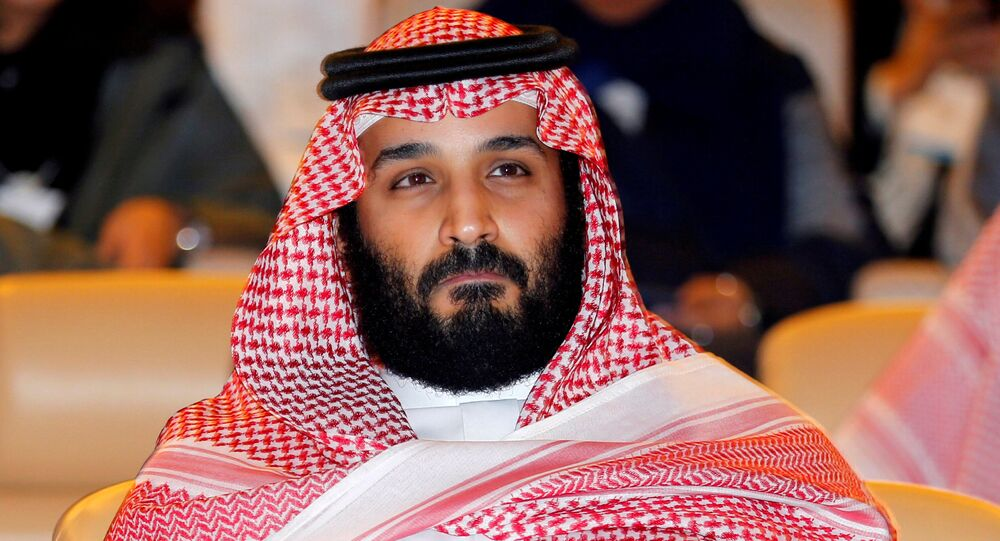 FILE PHOTO: Saudi Crown Prince Mohammed bin Salman attends the Future Investment Initiative conference in Riyadh, Saudi Arabia October 24, 2017